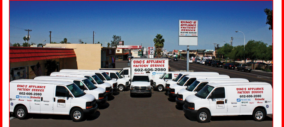 Dino S Appliance Factory Repair Phoenix Arizona